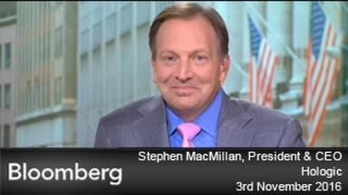 Embedded thumbnail for Hologic CEO on Bloomberg Markets