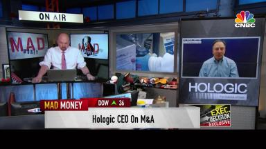 Embedded thumbnail for 2/7/21 Steve MacMillan on CNBC's Mad Money with Jim Cramer
