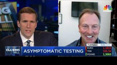 Embedded thumbnail for CEO Steve MacMillan discusses COVID-19 aysmptomatic testing with CNBC Closing Bell