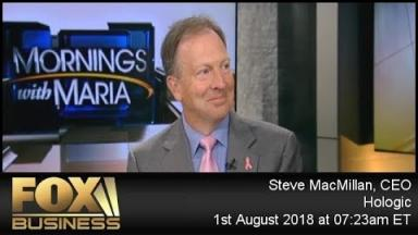 Embedded thumbnail for Hologic CEO Steve MacMillan on Fox Business Mornings with Maria