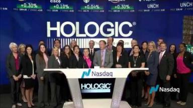 Embedded thumbnail for Hologic Rings Nasdaq Opening Bell to Kick Off Breast Cancer Awareness Month
