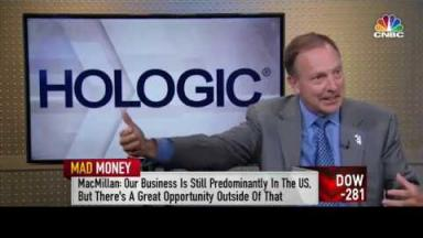 Embedded thumbnail for HOLX CEO on CNBC's Mad Money